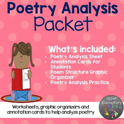 Poetry Analysis Square cover