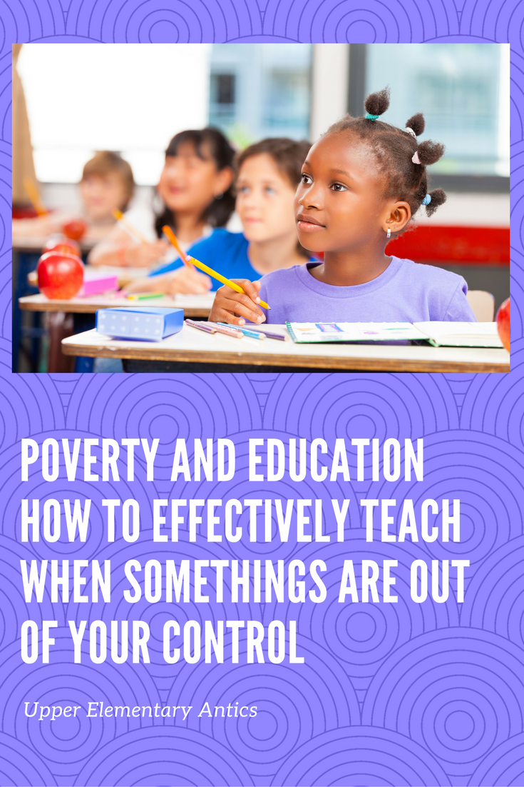 poverty and education